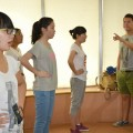 声乐班学员练声训练